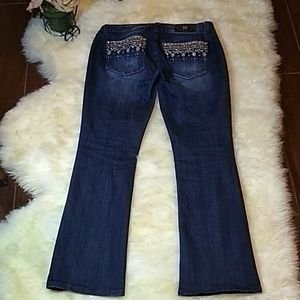 Miss Me Jeans 🤩💯♨️ Size 31/32 Boot Cut